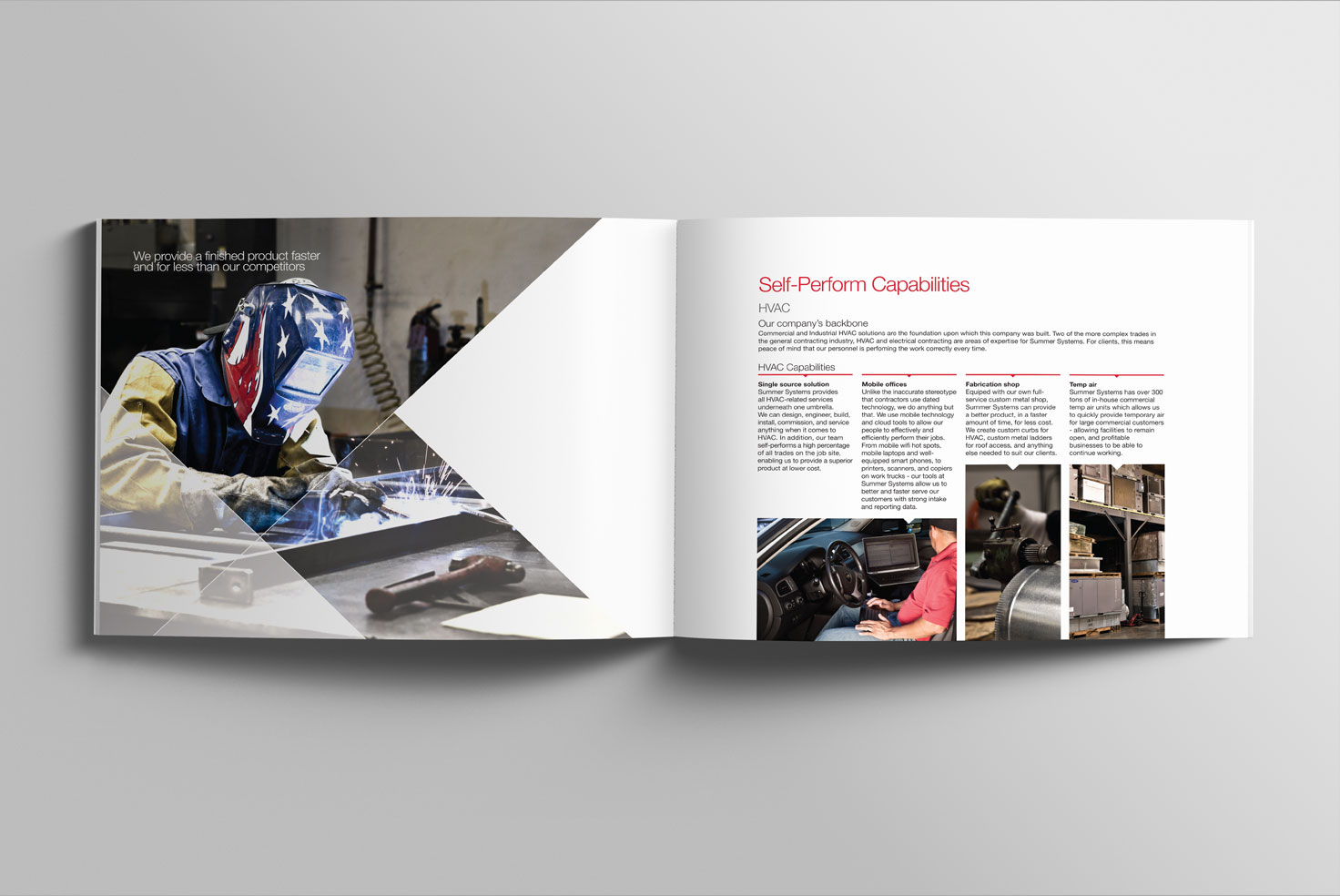 Brochure designed by FITdesign