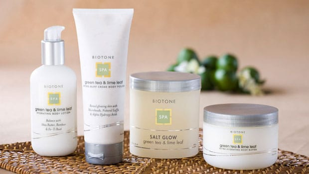 Packaging Spa Collection for Biotone Spa
