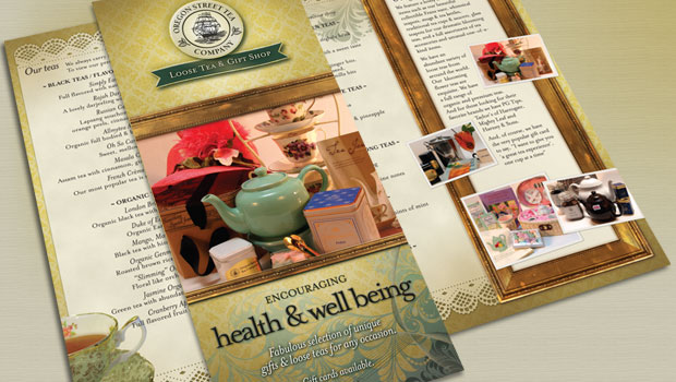 Oregon Street Tea Company Brochure