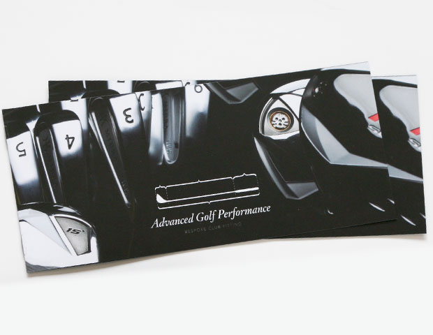 Advanced Golf Performance brochure