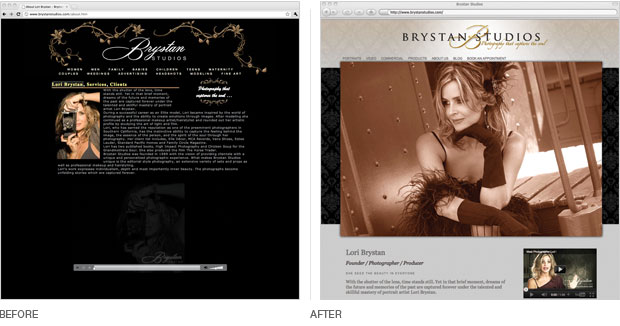 Brystan Studios website