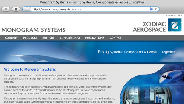 Monogram Systems Website