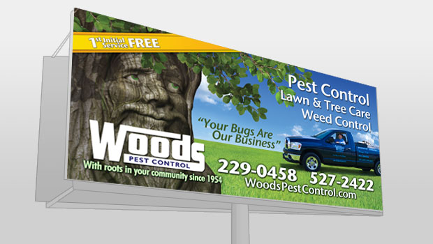 Woods Billboard